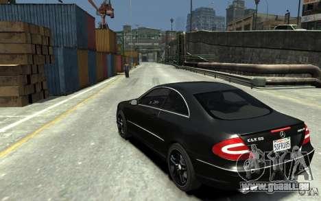 Mercedes-Benz CLK55 AMG 2003 v1 für GTA 4 hinten links Ansicht