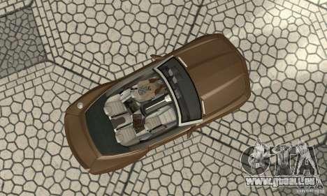 Chevrolet Camaro Concept 2007 für GTA San Andreas Rückansicht