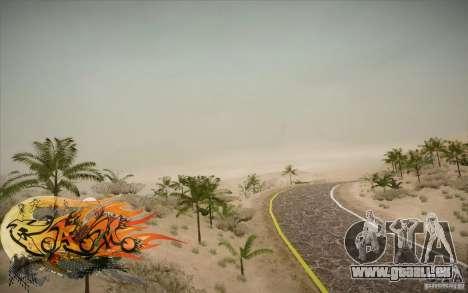 New Roads Las Venturas v1.0 pour GTA San Andreas quatrième écran