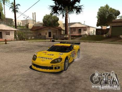 Chevrolet Corvette C6-R pour GTA San Andreas