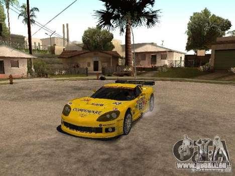 Chevrolet Corvette C6-R für GTA San Andreas