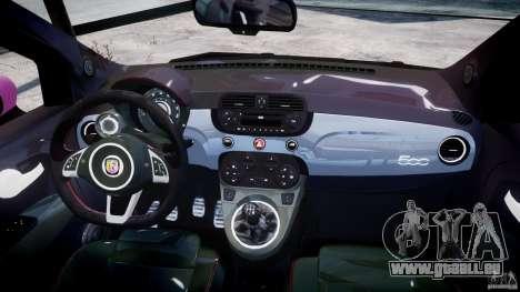 Fiat 500 Abarth SS für GTA 4 hinten links Ansicht