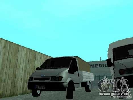 Ford Transit 2005 für GTA San Andreas zurück linke Ansicht
