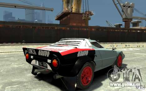 Lancia Stratos pour GTA 4 est un droit