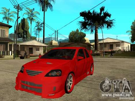 Dacia Logan Tuned v2 für GTA San Andreas