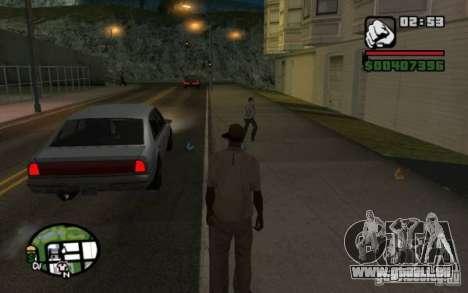 Jeter en passants par les ordures pour GTA San Andreas troisième écran