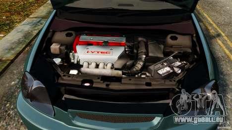 Honda Civic Type R (EK9) pour GTA 4 est un côté