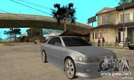 TOYOTA MARK II GT für GTA San Andreas Rückansicht