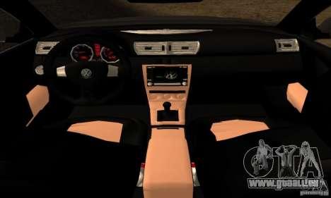 Volkswagen Passat pour GTA San Andreas sur la vue arrière gauche