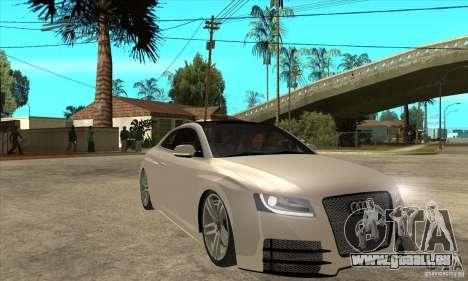 Audi S5 Quattro Tuning pour GTA San Andreas vue arrière