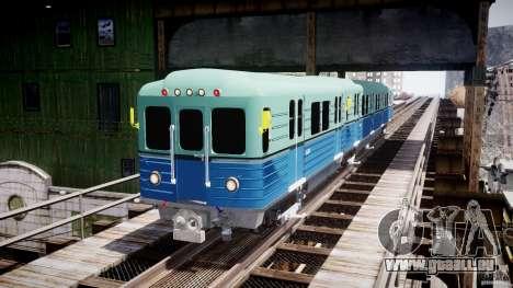 Metro russe pour GTA 4