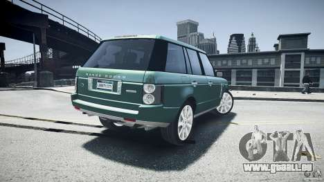 Range Rover Supercharged v1.0 pour GTA 4 est une vue de dessous