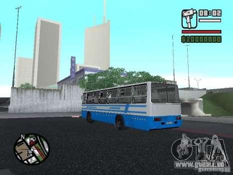 Ikarus 260 sécurité pour GTA San Andreas vue de droite