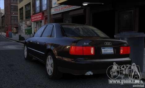 Audi A8 2000 pour GTA 4 est une gauche
