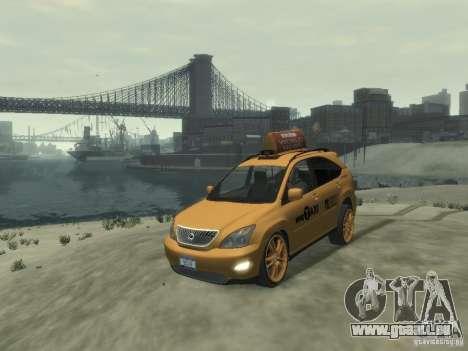 Lexus RX400 New York Taxi pour GTA 4