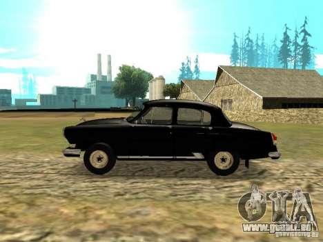 GAZ-21r pour GTA San Andreas laissé vue