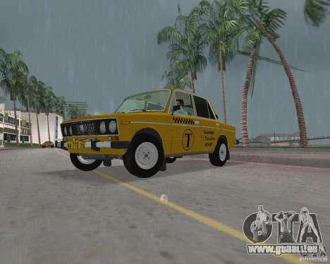 VAZ 2106-Taxi für GTA Vice City