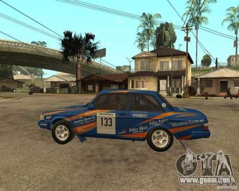 Volvo 242 Lightspeed Rally Edition für GTA San Andreas linke Ansicht