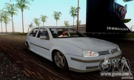 Volkswagen Golf 4 1.6 pour GTA San Andreas vue de droite