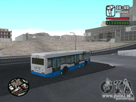 MAZ 103 pour GTA San Andreas vue de droite