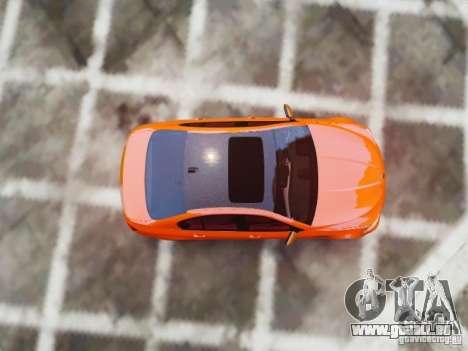 BMW M5 F10 2012 Aige-edit pour GTA 4 est une vue de l'intérieur