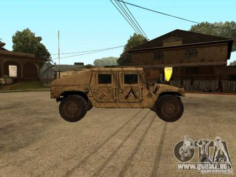 War Hummer H1 für GTA San Andreas linke Ansicht