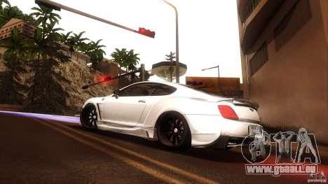 Bentley Continental GT Premier4509 2008 Final pour GTA San Andreas vue de droite