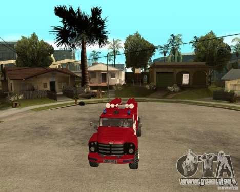Feu ZIL 133GÂ AC pour GTA San Andreas vue arrière