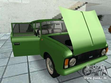 IZH Kombi 21251 für GTA San Andreas Innenansicht