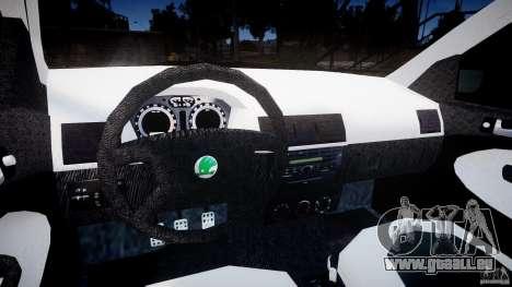 Skoda Fabia v1.0 pour GTA 4 Vue arrière