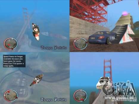 Jump Ramp Stunting für GTA San Andreas