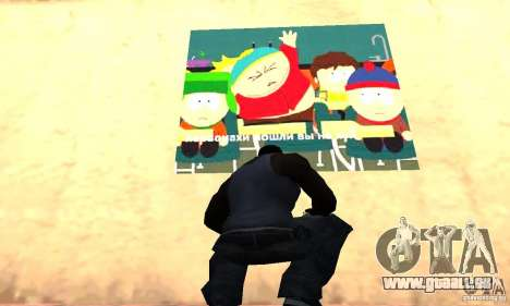 South Park Grafitti Mod für GTA San Andreas