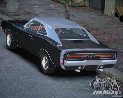 Dodge Charger RT Stock [EPM] für GTA 4 hinten links Ansicht