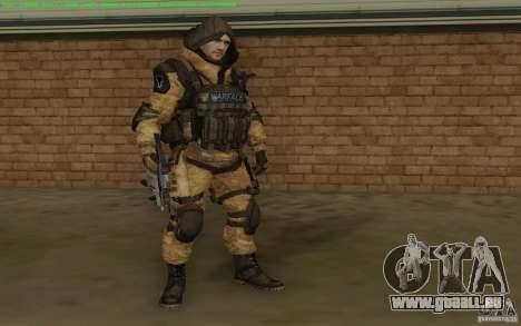 Scharfschützen Warface für GTA San Andreas