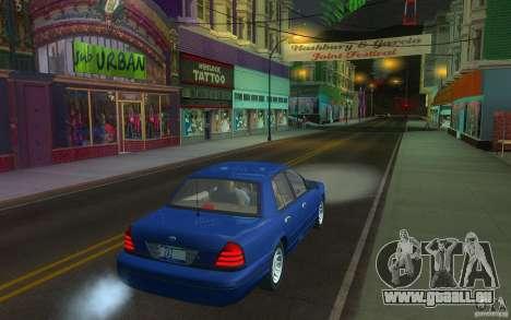 Ford Crown Victoria für GTA San Andreas rechten Ansicht