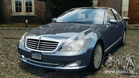 Mercedes-Benz W221 S500 2006 für GTA 4