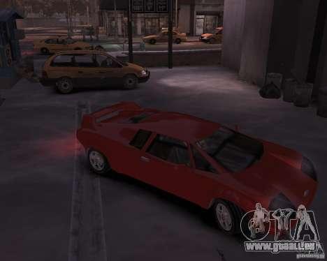 Infernus - Vice City pour GTA 4 Vue arrière