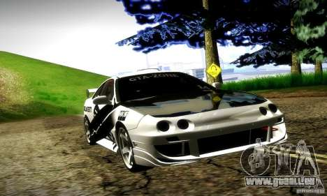 Acura Integra Type R pour GTA San Andreas vue de dessus