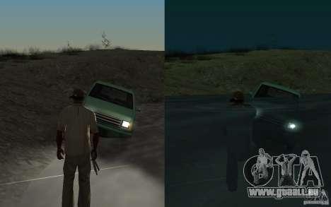 Flux et reflux pour GTA San Andreas