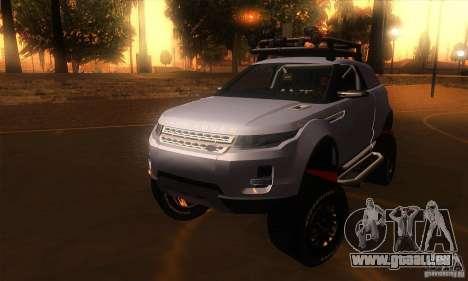 Land Rover Evoque für GTA San Andreas