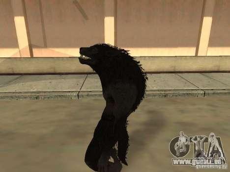 Werewolf from The Elder Scrolls 5 pour GTA San Andreas quatrième écran