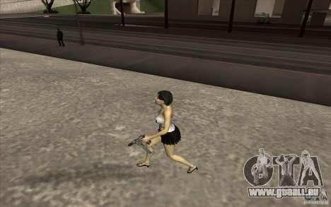 Kaileena big fan pour GTA San Andreas quatrième écran