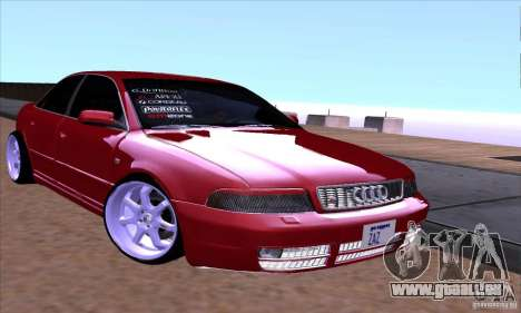 Audi S4 Light Tuning pour GTA San Andreas