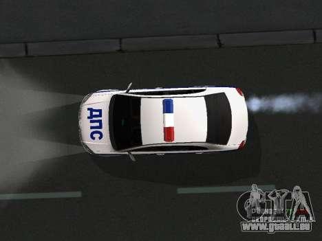 Toyota Avensis DPS pour GTA San Andreas vue de côté