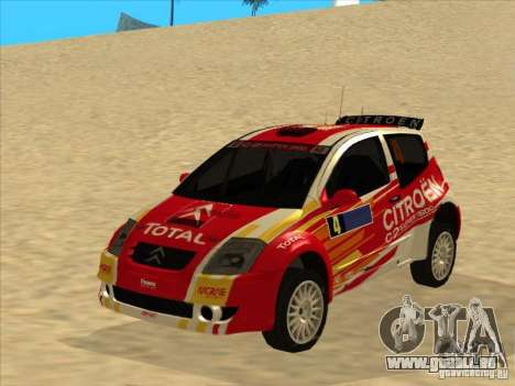Citroen Rally Car pour GTA San Andreas