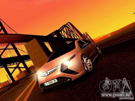 Opel Ampera für GTA San Andreas Rückansicht