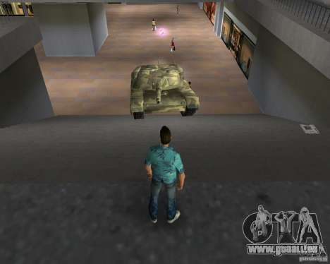 Camo-tank für GTA Vice City fünften Screenshot