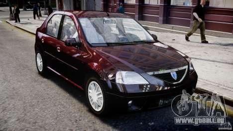 Dacia Logan 2007 Prestige 1.6 pour GTA 4 est un côté