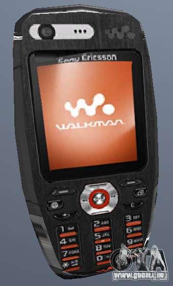 Sony Ericsson W880i für GTA San Andreas