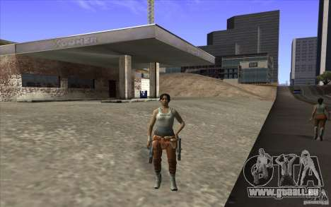 Chell from Portal 2 pour GTA San Andreas